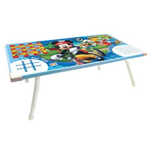 2 in 1 Kids Multipurpose Foldable Bed Study Table Laptop Table for Kids Disney Mickey Mouse Theme