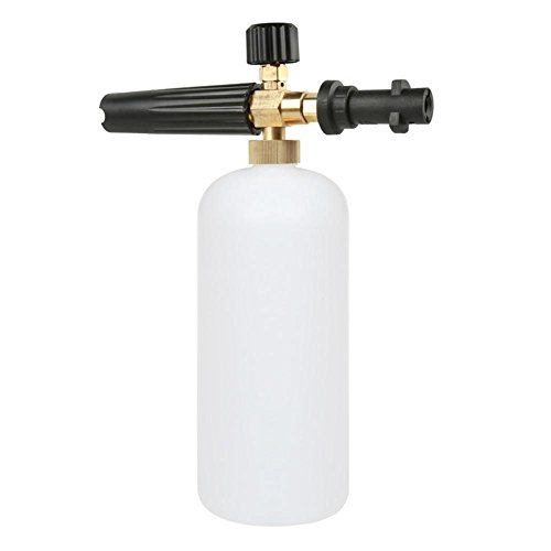 22Bar High Pressure Car Washer Foam Gun Lance Bottle 1L for Karcher K2-K7 by Yourig