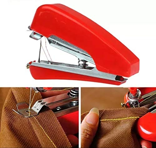 90 Degree® Automatic Mini Hand Cloth Sewing Stapler Machine Portable and Cordless Stapler Stitching