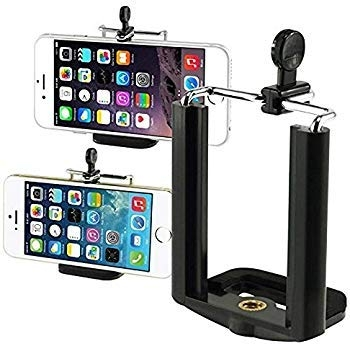 A E P Universal Mobile and Small Size Camera and Selfie Stick Holder Tripod Attachment (Black) – Best Tripod Online