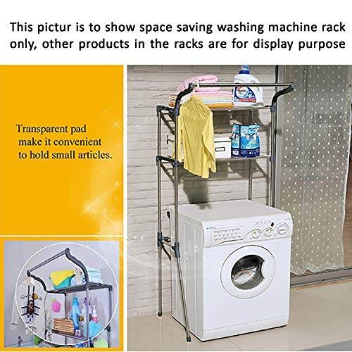 AARTIN Space Saving Washing Machine Rack Suitable for up to 70 cm Width Machines