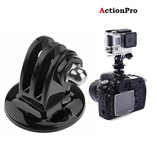 Action Pro 1 x Tripod Mount Adapter for Gopro Hero 7/6/5/4/4S/3+/3/2/1 (Black) – Best Tripod Online