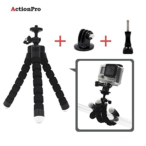 Action Pro Tripod Stand For Gopro Hero 5 4 3 2, SJCAM, Xiaomi Yi Action Camera – Best Tripod Online