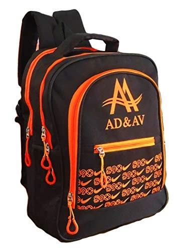 AD & AV School Bag ADAVBAG_103_Orange_A