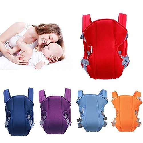 Ad Fresh Cotton 4in1 Baby Carrier Bag with Comfortable Head Support (12×5.6×4.8 cm, Multicolor)