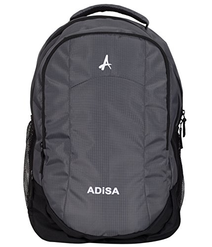 ADISA BP005 Grey Light Weight 35 Ltrs Casual Laptop Backpack