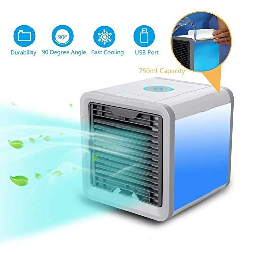 AMAZING MALL (LABEL) Arctic Air Portable 3 in 1 Conditioner Humidifier Purifier Mini Cooler (White)