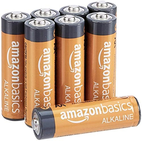 AmazonBasics AAA Performance Alkaline Non-Rechargeable Batteries (8-Pack) – Appearance May Vary