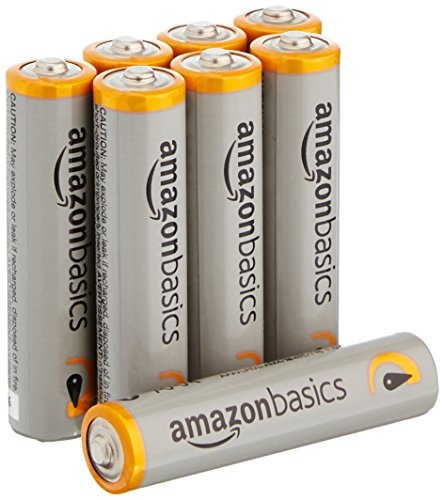 Amazon Basics Aaa Batteries | AmazonBasics AAA Performance Alkaline Non-Rechargeable Batteries (8-Pack) – Packaging May Vary