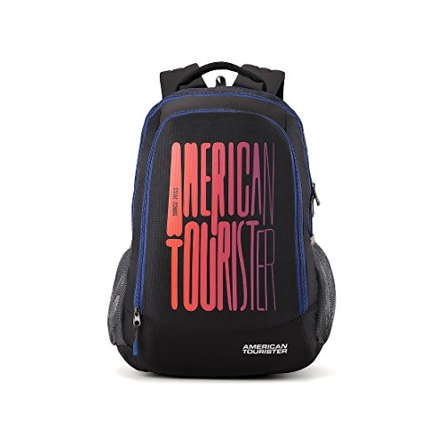 American Tourister 32 Ltrs Black Casual Backpack (AMT Fizz SCH Bag 03 – Black)