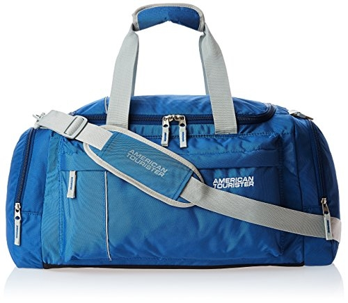 American Tourister  Nylon 65 cms Blue Travel Duffle (40X (0) 01 009)