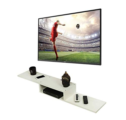 Anikaa Vincent TV Entertainment Unit/Wall Set Top Box Stand Shelf (Wenge Big)