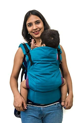 Anmol Baby Carrier (Teal Blue)