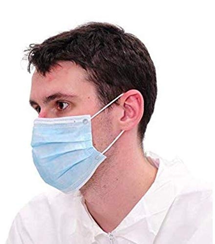 Anti pollution and Virus Control 3 Layer Best Quality Mask for men women – Pack of 5