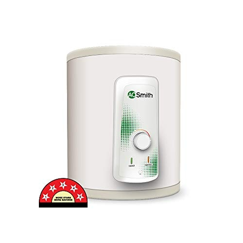 AO Smith HSE-VAS-X-25 Litre Storage Vertical Water Heater White 5 Star