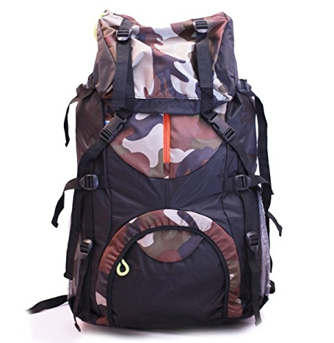 ARD ENTERPRISE 60 L Unisex Polyester Travelling Trekking Waterproof Rucksack (Army Colour)