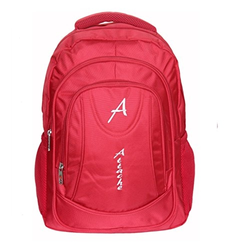 Attache Premium Quality School Bag / Laptop Bag (Red)