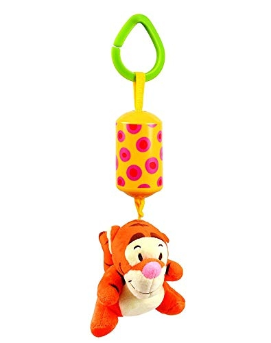 Baby Station Baby Toys Music Rattles Multifunctional Kids Bell Ring Paper Car Bed Bouncer Cot Pram Hanging Strollers Toys Activity Toddler Toy ( Orange Tiger)