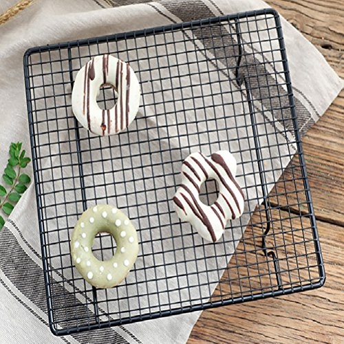 Oven Cooking Rack | INDIAN DECOR Stainless Steel Wire Cooling Rack for Baking fits Half Sheet Pans Cool Cookies, Cakes, Breads – Oven Safe for Cooking, Roasting, Grilling – Heavy Duty Commercial Quality