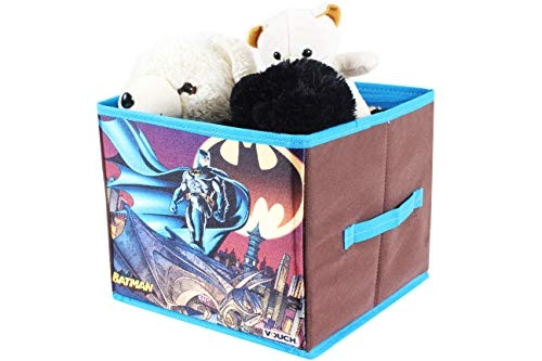 Batman SBS_BM1 Toys Organizer Storage Box for Kids, Small, Blue