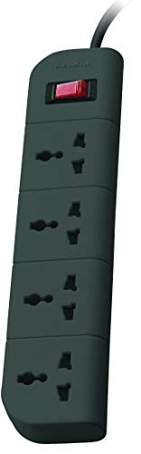 Belkin Surge Protector   Belkin Essential Series F9E400zb1.5MGRY 4-Socket Surge Protector