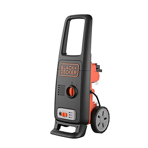 Black & Decker PW1370 100-Bar Pressure Washer (Orange and Black)