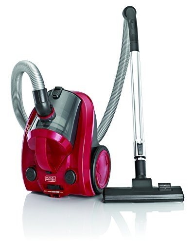 Black + Decker VM1650 1600-Watt Vacuum Cleaner (Maroon)