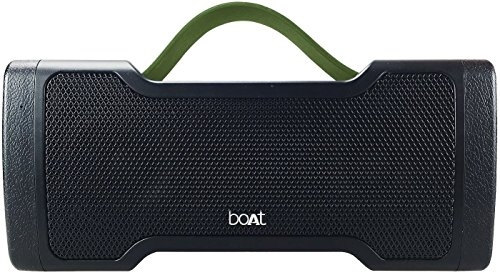 boAt Stone SpinX Portable Wireless Speaker with Extra Bass (Charcoal Black) – Boat Stone Spinx Price in India
