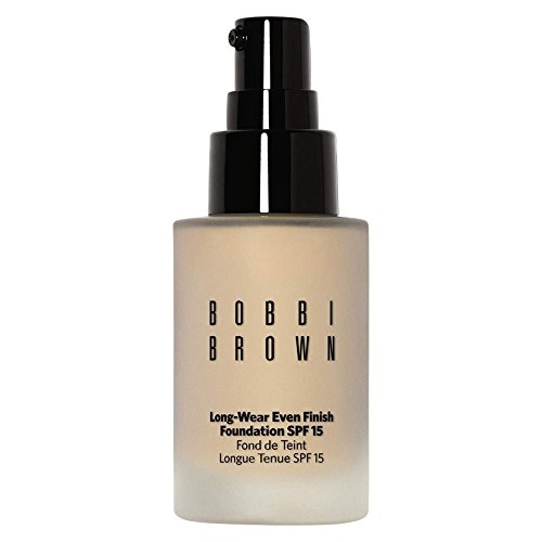 Bobbi Brown Long Wear Even Finish Foundation SPF 15, No. 1 Warm Ivory, 1 Ounce