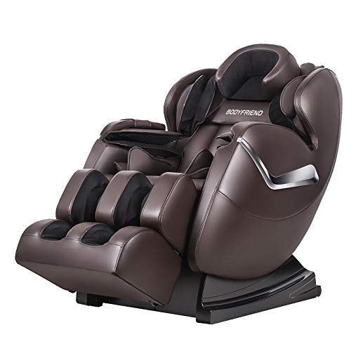 BODYFRIEND 4D Massage Chair   Multiple Airbags   Luxurious Look With Bluetooth & Zero Gravity