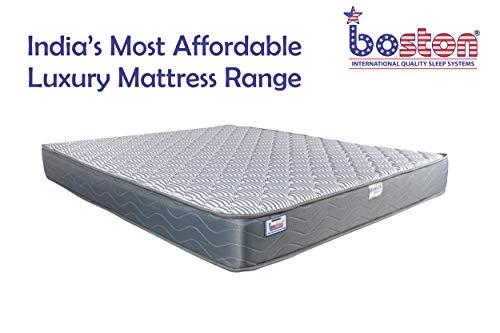 Boston Basics 6 Inch Bonnell Spring Single Size Mattress for Bed (72 X 35 X 6 Inch)