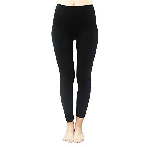 BTC womens ankle length strechable spandex Lycra leggings| pants (Black, Free Size) for regular wear and Gym. Be Trendy!