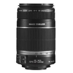 Canon EF-S 55-250mm f/4-5.6 is II Telephoto Zoom Lens for DSLR Camera (Black)