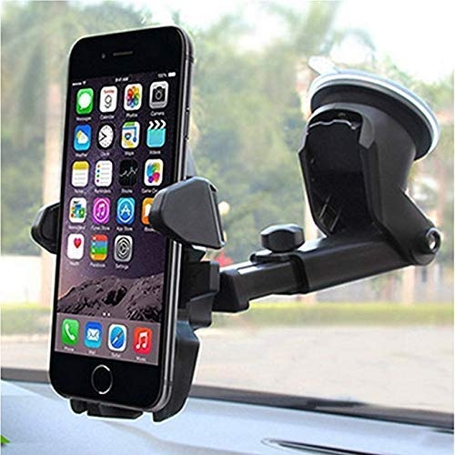 car mobile holder 2019 – CEUTA™ Car Mobile Phone Holder(2019) with One Touch 360 Degree Rotating for Dashboard/Windshield, for All Smartphones(Black)