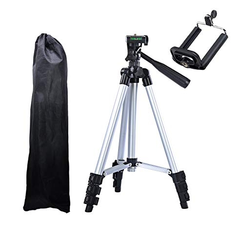 Coku TPD-3110-S Portable Travel Lightweight Aluminum Tripod for Mobile Phone with Nylon Carry Case | Smartphone Mount for All Smartphone & DSLR Camera – Best Tripod Online