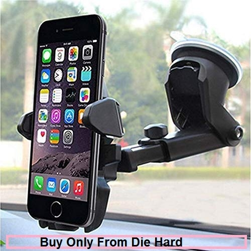 car mobile holder automatic – CQLEK™ Car Mobile Holder/Car Mount Long Neck 360° Rotation with Ultimate Reusable Suction Cup for Car Dashboard/Car Windshield/Desktop
