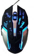 Dark Edge RM-200 Optical Gaming Mouse (Black)