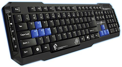 Zebronics Transformer Gaming Multimedia USB Keyboard and Mouse Combo (Black)