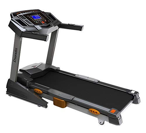 Durafit Heavy Hike Multifunction 2.5 HP (5.0 HP Peak) DC Motorized Treadmill with Auto Incline
