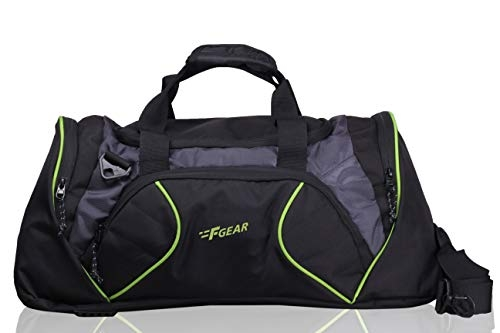 F Gear Cooter Polyester Ocean Blue Small 46 Liter Travel Duffle bag-20 inch