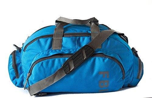 Skybags Polyester 53 cms Blue Travel Duffle (DFFLI3WBLU)