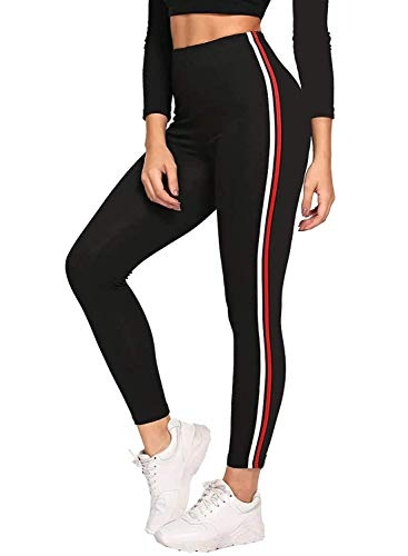 FITG18® Women Printed Denim Tights/Jeggings/Jeans Yoga Pants/Active wear (RED WHITEE, Free Size)