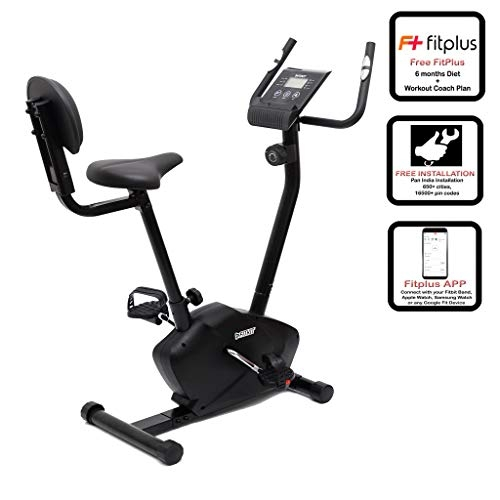 Fitkit FK750 Magnetic Bike with Back Rest (8 lbs) with Free Installation