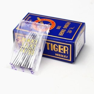 FLIYING TIGER HA14 Machine Needle for Automatic Sewing Machines – Pack of 20 (White)