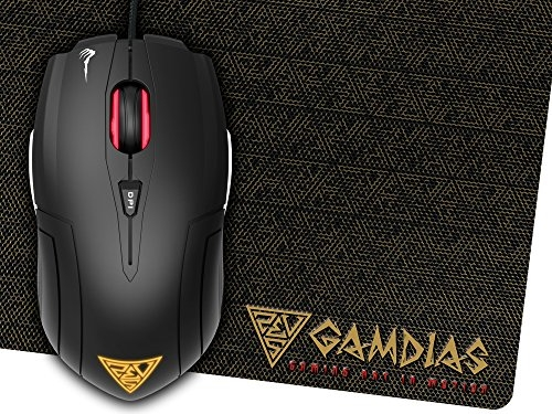 (Renewed) Redragon M601 CENTROPHORUS-2000/3200DPI Gaming Mouse for PC, 6 Buttons, Weight Tuning Set