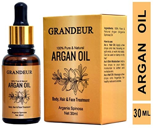 Rouh Essentials Pure and Organic Moroccan Argan Oil, 15ml
