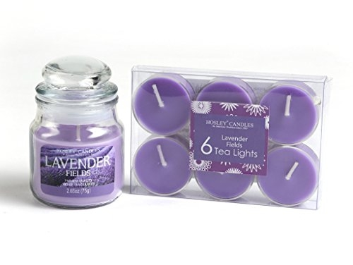 Scented Candles Lavender – Pure Source India Ceramic aroma burner Regular Dark Blue Color with 10 ML Lavender Aroma Oil and 4 Tea Light Candle ( Oil Burner Set )