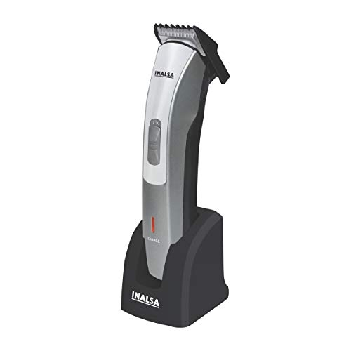 Inalsa IBT 05 Beard and Hair Trimmer with 0.8mm Precision Trimming, (Gray)