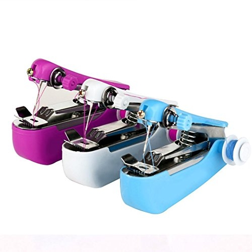 Intiye Stitch Travel Household Electric Portable Mini Handheld Sewing Machine Attachments