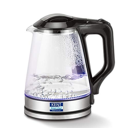 Black+Decker BXKE1705IN 1.7-Litre Stainless Steel Electric Kettle with Digital Control and Keep Warm Feature (Grey)